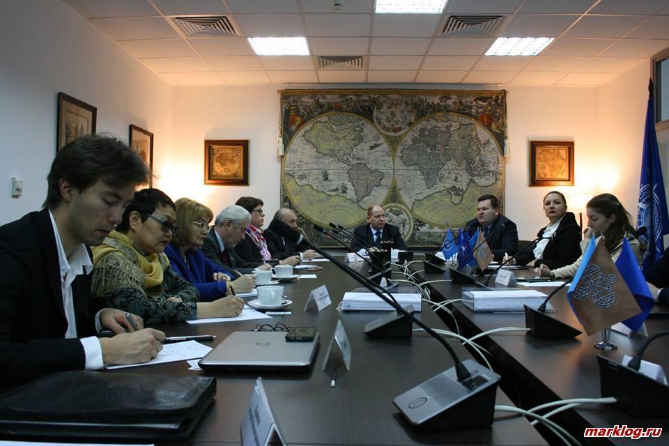 Заседание участников дискуссионного клуба ЕОЭС