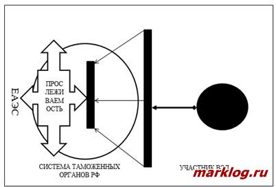 Графическая интерпретация таможенного контроля