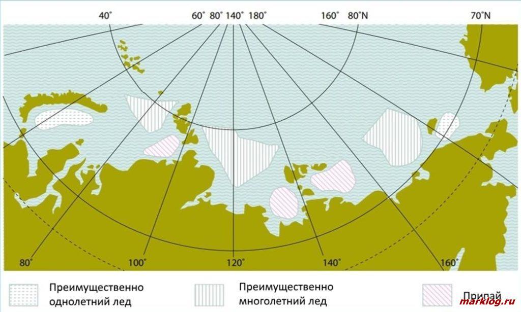 Ледовые условия Северного морского пути