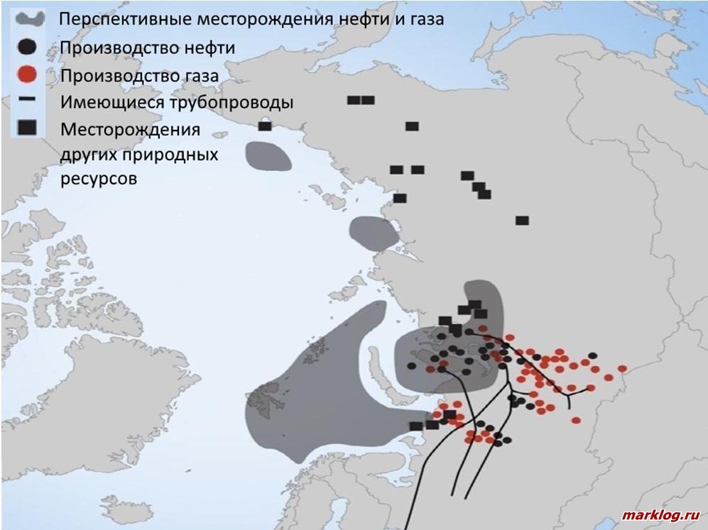потенциал территорий Северного пути